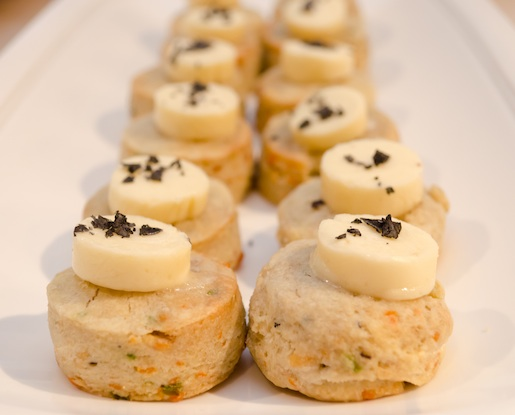 Lautrec Truffle Scones with Fiscalini Farmstead Cheddar and Sea Salt